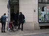 Besucher im Stadtteilladen, Leipziger Westen